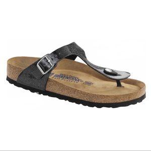 Birkenstock Gizeh Sandals Galaxy Black Sparkle 8